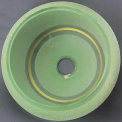 coupelle-vert-et-or-pour-lustre-20eme