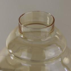 Globe boule opaline art déco diamètre 22 cm