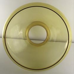 globe-abat-jour-verre-ambre-vintage
