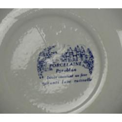 6 Assiettes Creuses BP Pyroblan