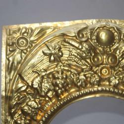 Pediment-clock antique-french
