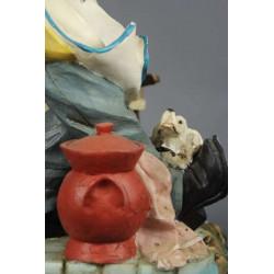 Sculpture en Résine Pizzaiolo Deco Comptoir