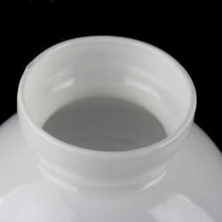 Abat-jour verre cranberry 17,5 diamètre