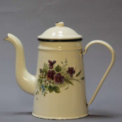 cafetiere emaille ancienne