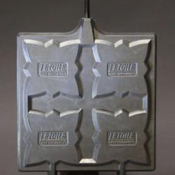 Boule verre satiné pour lustre ou lampe