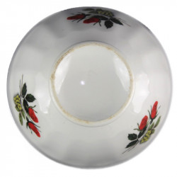 Globe verre ambré diamètre 14 cm