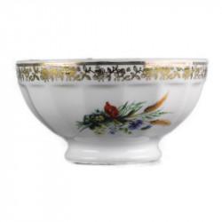 bols-porcelaine-de-limoges--fleurs-champetres-vintage
