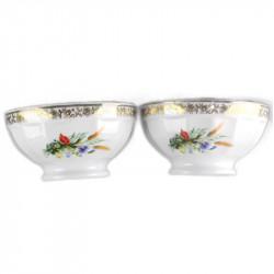 lot-de-2-bols-limoges-fleurs-champetres-vintage