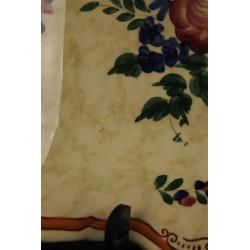 Tulipe Abat-jour Globe en Verre Gravé en Verre Ambré Pour Lampe à Petrole ou Lustre