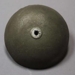 Globe boule verre decor doré 14 cm diamètre