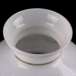 Globe boule verre ambré 12 cm diamètre