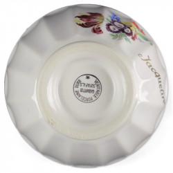Globe opaline blanc 15 cm diamètre base collerette