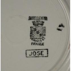 Assiette Creuse Sarreguemines Jose
