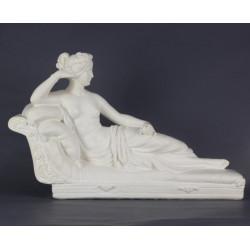 venus-déesse-statuette-en-platre-vernis
