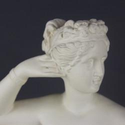 Abat jour globe opaline blanche 14,5 cm diamètre