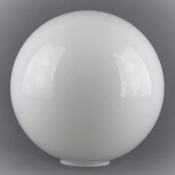 Abat-jour boule verre satiné pour lampe ou lustre