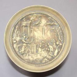 Coupe-vide-poche-en-bronze-décor-à-l-antique XIXéme