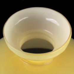 abat-jour-opaline-jaune