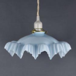 Lampe-suspension-abat-jour-opaline-bleu
