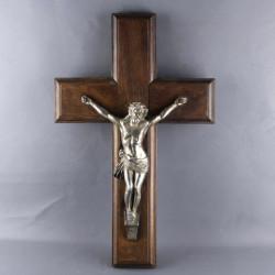 ancien-crucifix-christ-bois-et-metal