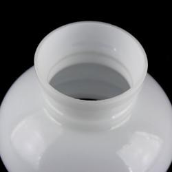 Globe boule opaline blanche diamètre 14 cm