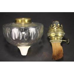 Pièces pour Lampe A Pétrole Réservoir + Bobèche