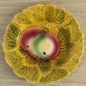 suspension-en-opaline-bicolore-decor-floral-vintage