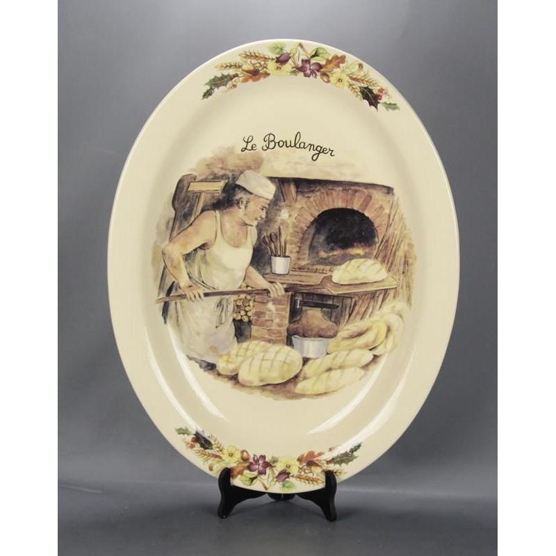 Pat Ovale en Céramique Le Boulanger