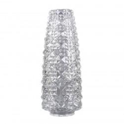 abat-jour-verre-cisele-conique-diamant-pour-lustre-annees-50-60 50-60