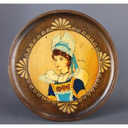 assiette-murale-bois-bretonne-breizh