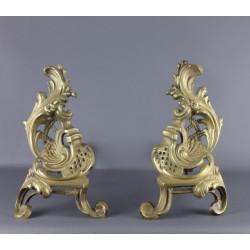 paire-de-chenets-bronze-style-rococo