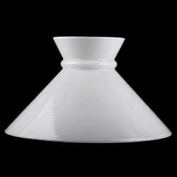 globe-opaline-blanc-chapeau-chinois-295-mm-de-diametre diamètre