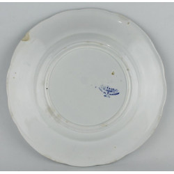 Assiette Parlante N°11 Creil & Montereau