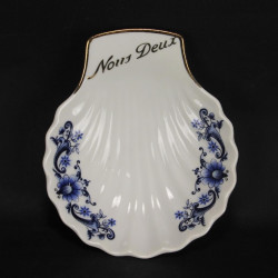 Abat-Jour Globe en Opaline Blanc Ø 22,5 cm
