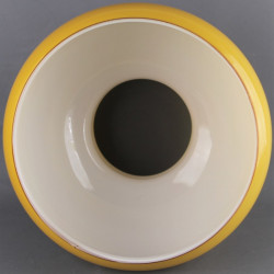 globe-opaline-jaune-179mm-très-bon-état