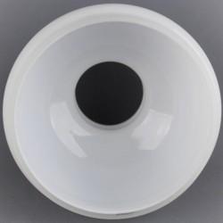 Verre bombé pour lampe à pétrole H 15 cm