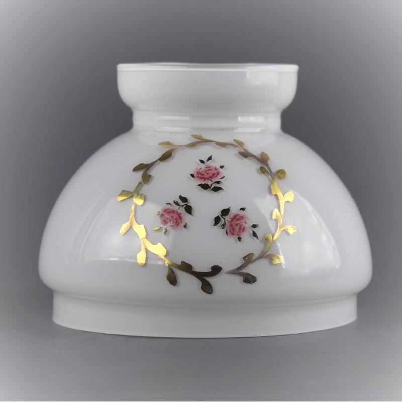 abat-jour-opaline-blanc-petites-fleurs-roses
