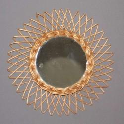 miroir-rotin-vintage