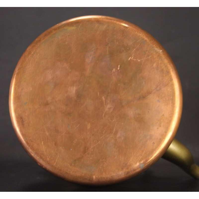 ancien verre de lampe  petrole cheminee