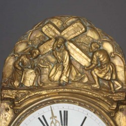 Horloge-comtoise-ancienne
