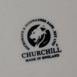 Assiette à Dessert Churchill