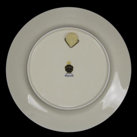 Assiette Parlante N°4 Creil & Montereau