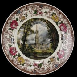 Assiette Décorative Porcelaine Fine