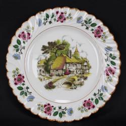Assiette Décorative  Porcelaine Limoges