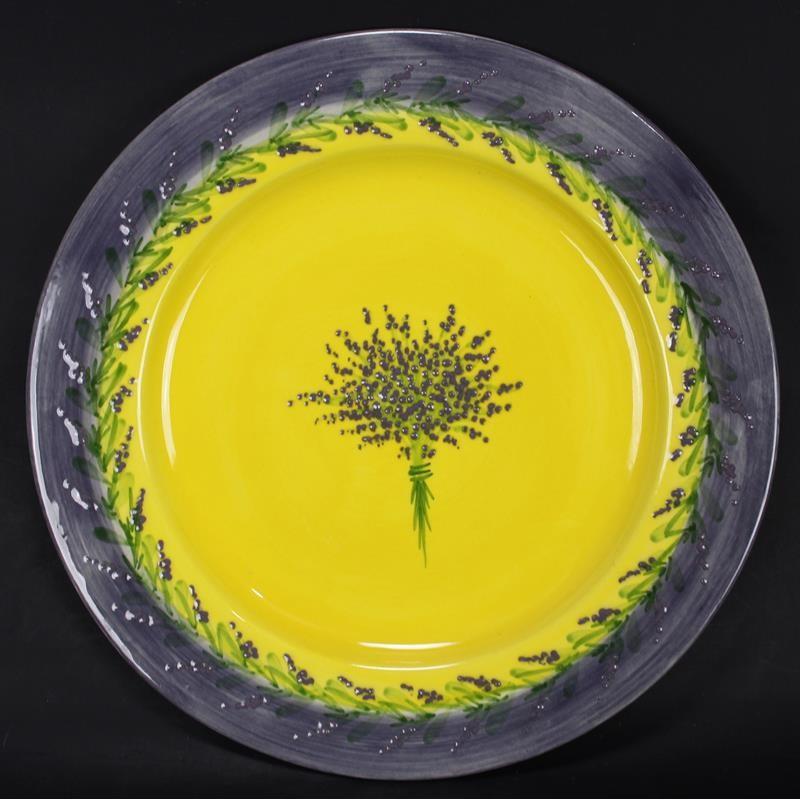 Assiette Décorative Bouquet de Lavande